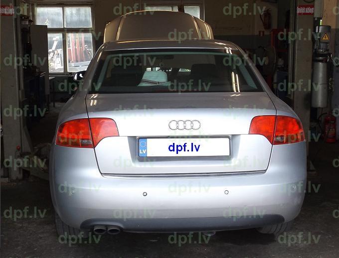 Audi A4 DPF atslegsana